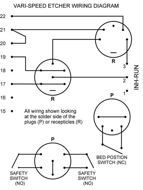 electric motor wiring schematic