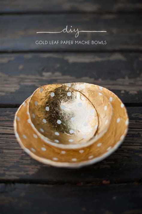 How To Make Paper Mache Bowls - 39 best diy gift ideas for diy projects for