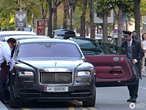 roll royce qatar qatari rolls royce wraith in france qatar auto