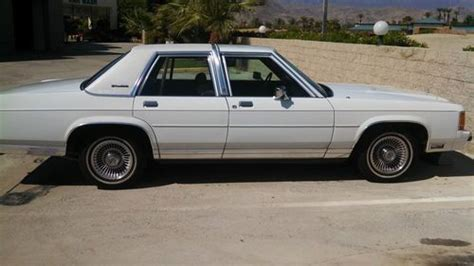buy used 1991 ford ltd crown victoria lx sedan 4 door 5 0l in palm desert california united