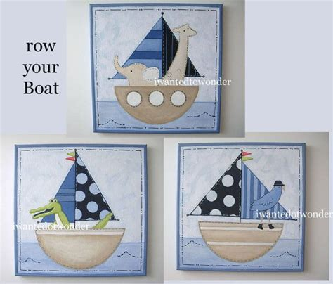 row your boat fish row your boat jackson whale fish canvas por