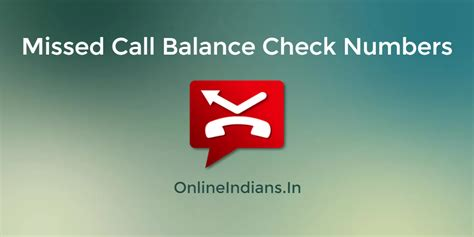 Missed Call Finder Name Address How To Activate Banking In Sbi Indians