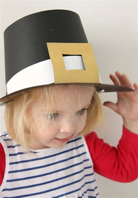 How To Make A Paper Pilgrim Hat - thanksgiving day craft diy pilgrim hats modern parents