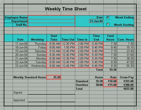 time card excel template 2 week excel timesheet templates excel timesheets