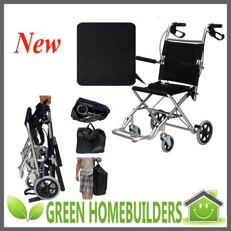Kursi Roda Ringan portabel ringan foldingtravelling bandara kursi roda untuk