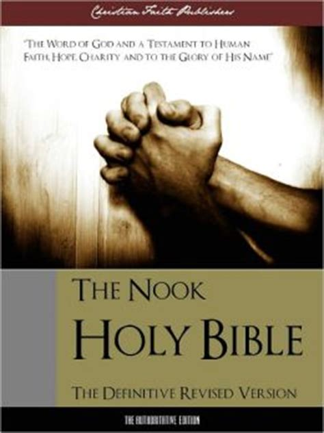 the holy bible english b004mproxu holy bible the nook holy bible special nook edition definitive english authorized revised