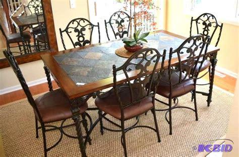 Wrought Iron Kitchen Table by Wrought Iron Kitchen Chairs Swineflumaps