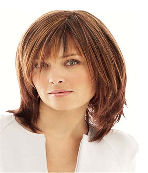 medium length hair cuts to compliment long face medium length hairstyles for round face fashion