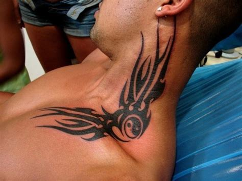 tattoo designs for men neck 50 most beautiful and attractive neck tattoos