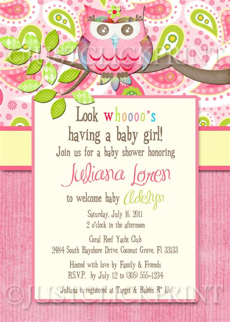 printable owl themed baby shower invitations paisley owl look whooos having a baby shower invitation