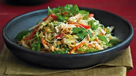 Green Home Design Plans vietnamese chicken and noodle salad recipe good food