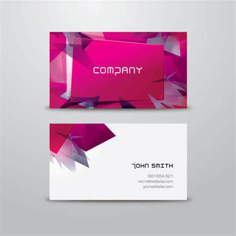 free vector fashion business card templates modern business card design template vector 123freevectors