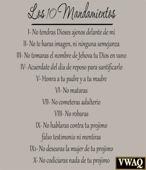 bathroom song in spanish 10 commandments spanish vinyl wall decal bible ten
