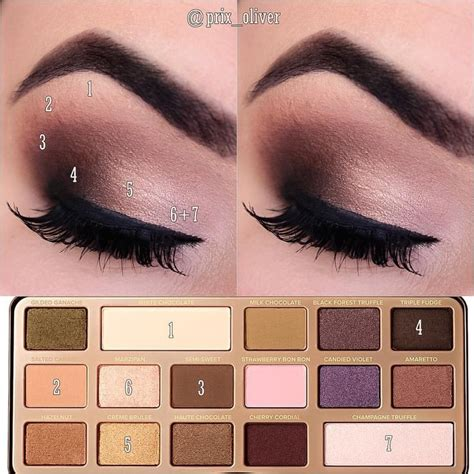 eyeshadow tutorial chocolate bar se dette instagram billede af prix oliver 149 synes