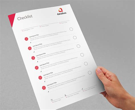 Checklist Design Template Project Checklist Template 11 Free Word Pdf Documents Download Free Premium Templates