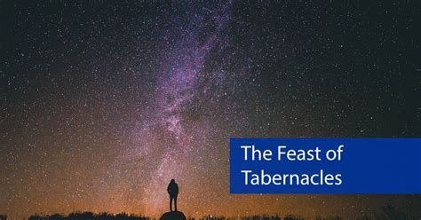 the feast of the the feast of tabernacles
