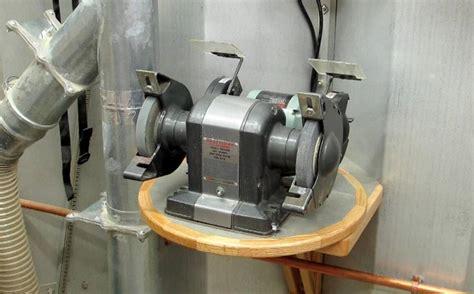 bench mounted grinder build wooden bench grinder mount plans download best wood