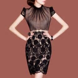 free shipping women s elegant dresses black lace floral