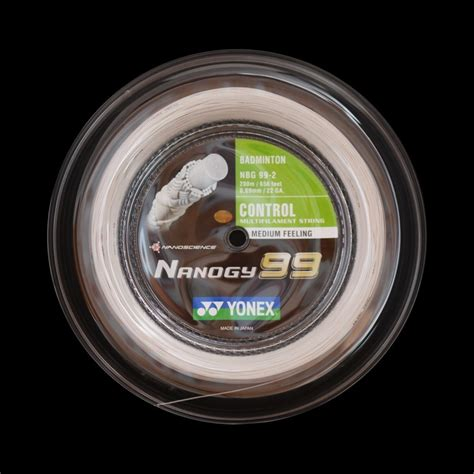 Senar Badminton Yonex Nanogy 99 bobine yonex nanogy 99 badmania fr badminton
