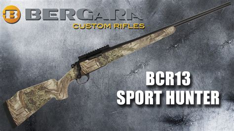 bergara teams up with realtree 174 and nra for custom rifle giveaway deer hunting - Free Hunting Giveaways