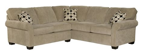 broyhill ethan sectional broyhill furniture ethan two piece sectional with corner