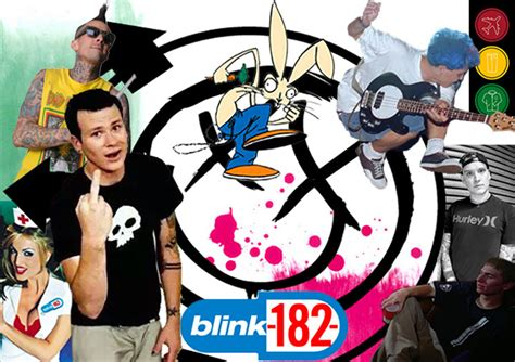 Blink 182 Collage blink 182 the anals of history