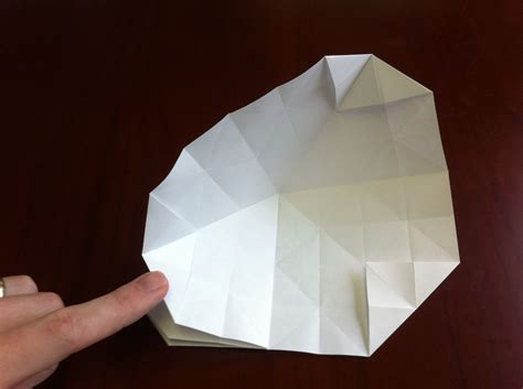 How To Make An Origami Sphere - how to fold a textured origami 171 origami wonderhowto