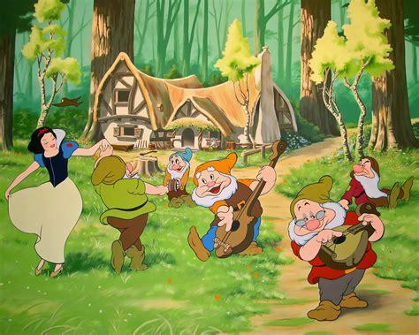blancanieves y los siete imagenes de dibujos animados blancanieves