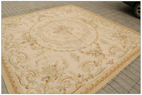 pastel antique aubusson area rug free ship country