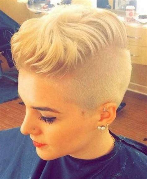 womens haircut with short sides 12 shaved hairstyles 2017 for women goostyles com
