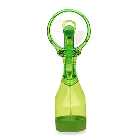 o2cool deluxe misting fan o2cool 174 deluxe water misting fan in green buybuy baby