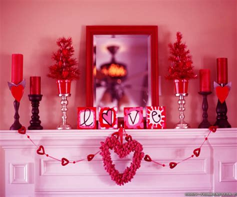 day home decor masterly 2pcs font b valentines b font font b day b font decor wedding garland font to luxurious