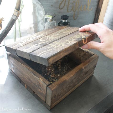 how to make wooden jewelry diy wooden jewelry accessories box beckham