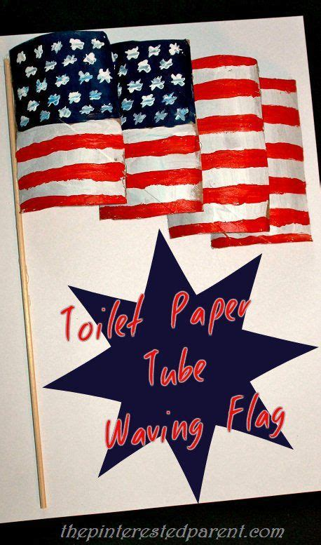 How To Make A Flag Out Of Paper - create a waving flag for the 4th of july out of toilet
