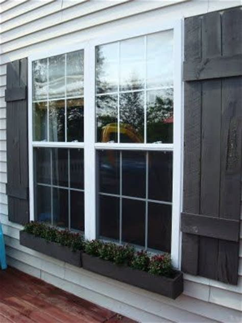 shutters and window boxes diy shutters woodworking projects plans