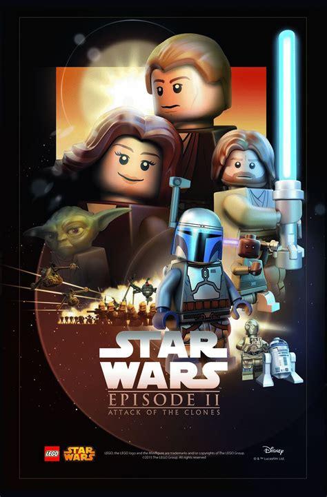 video film ggs episode 2 lego star wars episode 2 poster film