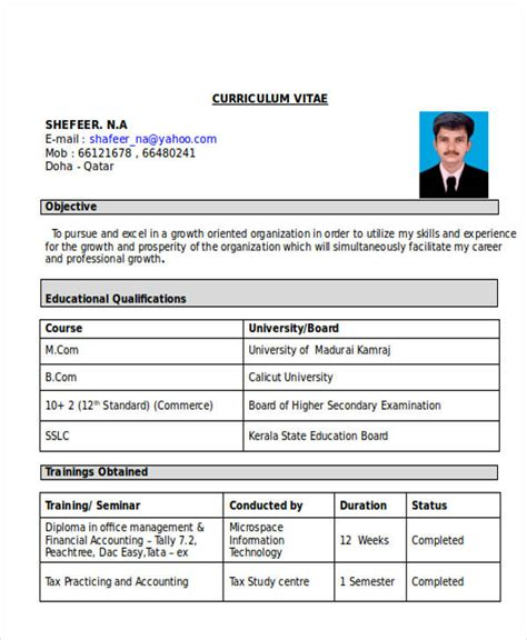 resume format for accountant post freshers 33 accountant resumes in doc free premium templates