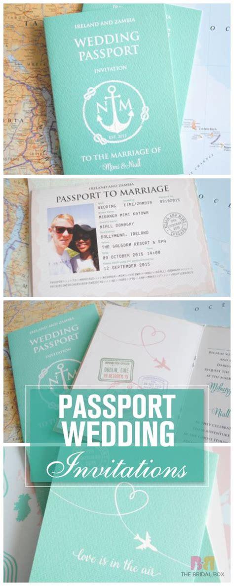 best 25 passport invitations ideas on