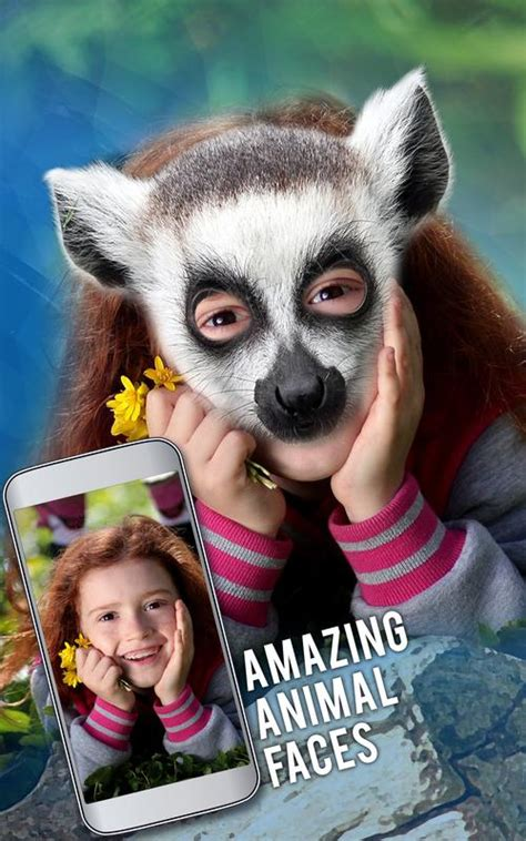 animal face swap photo editor fun face camera  android apk