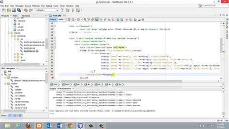 yii netbeans tutorial 2 yii framework with bootstrap configure yii framework