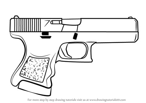How To Draw A Glock 18 learn how to draw glock 18 from counter strike counter