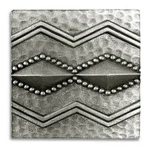 Tin Backsplash Kitchen Mitumba 2x2 Inch Pewter Tile Metal Tile Accent Tiles