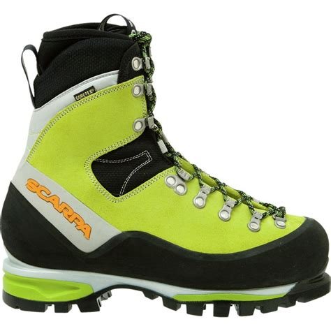 s mountaineering boots scarpa mont blanc gtx mountaineering boot s