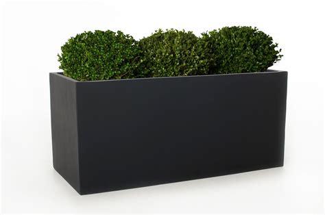 terrasse 50 cm hoch vivanno blumenk 252 bel pflanztrog fiberglas quot maxi quot anthrazit