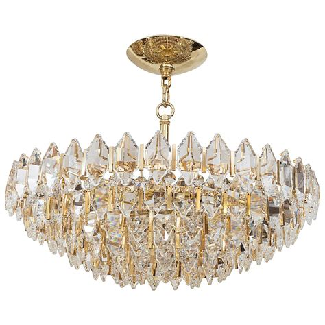Tiered Chandelier tiered brass and chandelier at 1stdibs