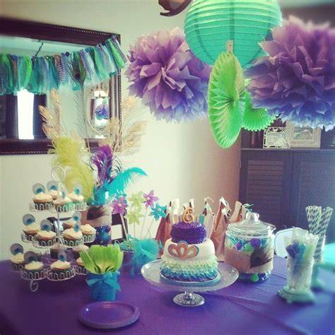 themed decorations home 25 best ideas about peacock birthday on