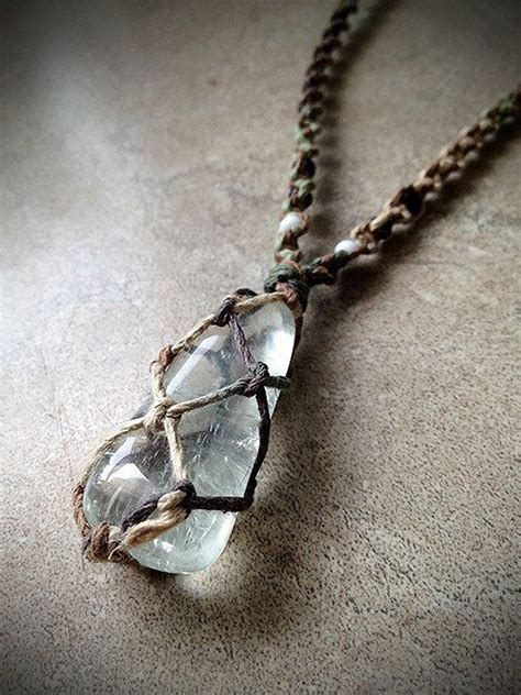 how to make hemp jewelry prasiolite hemp necklace