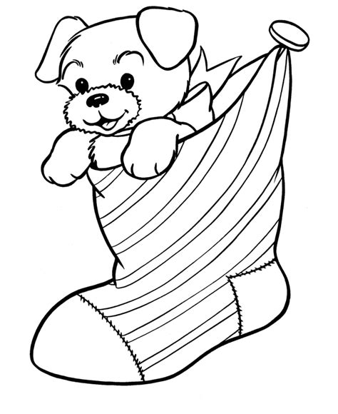 christmas puppy coloring pages team colors