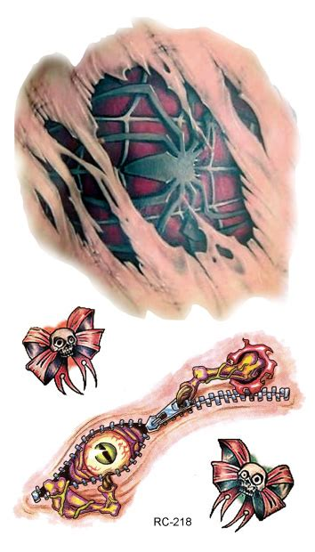 wound tattoo designs temporary designs sales rachael