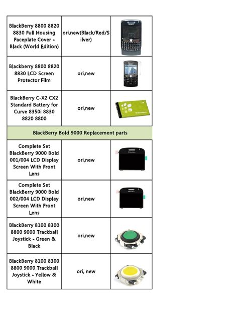 Lcd Blackberry 9800torch 002 Ori quotation of blackberry repair parts